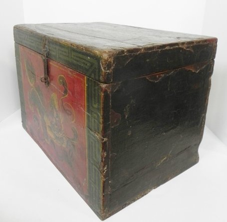 SHANXI, LATE 19TH CENTURY VINTAGE DECORATIVE ASIAN BOX - 3