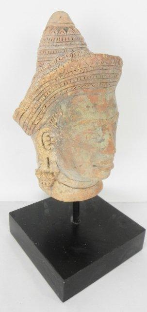 KAMAR TERRACOTTA HEAD