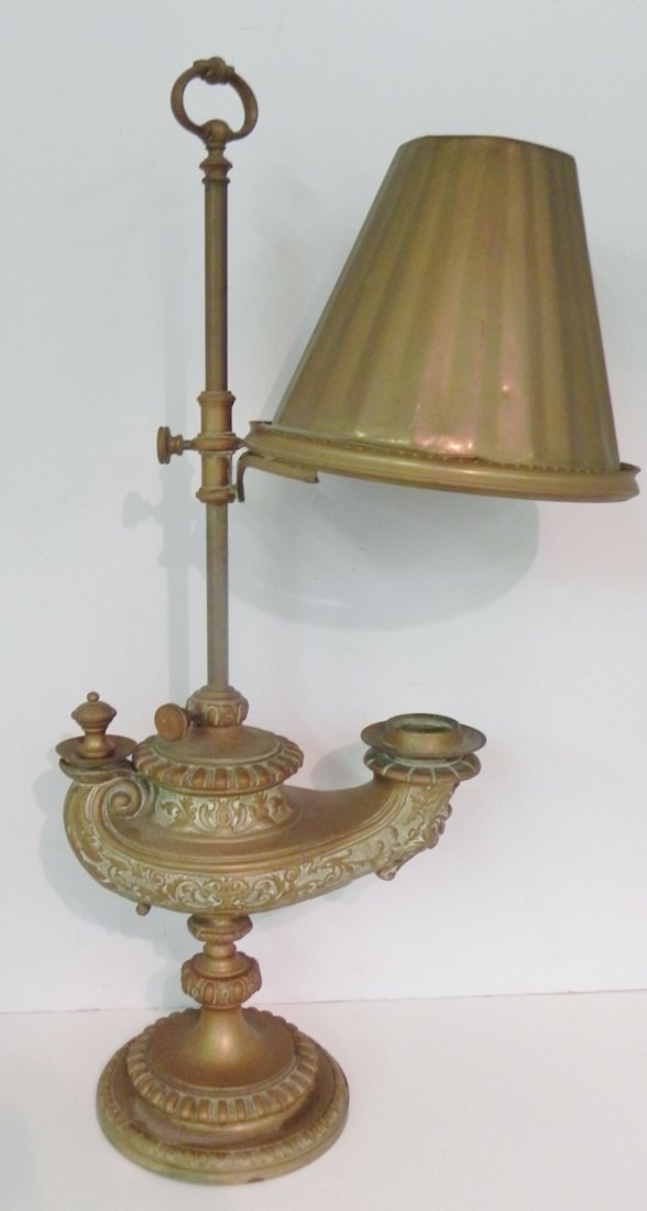 BRONZE GENIE LAMP