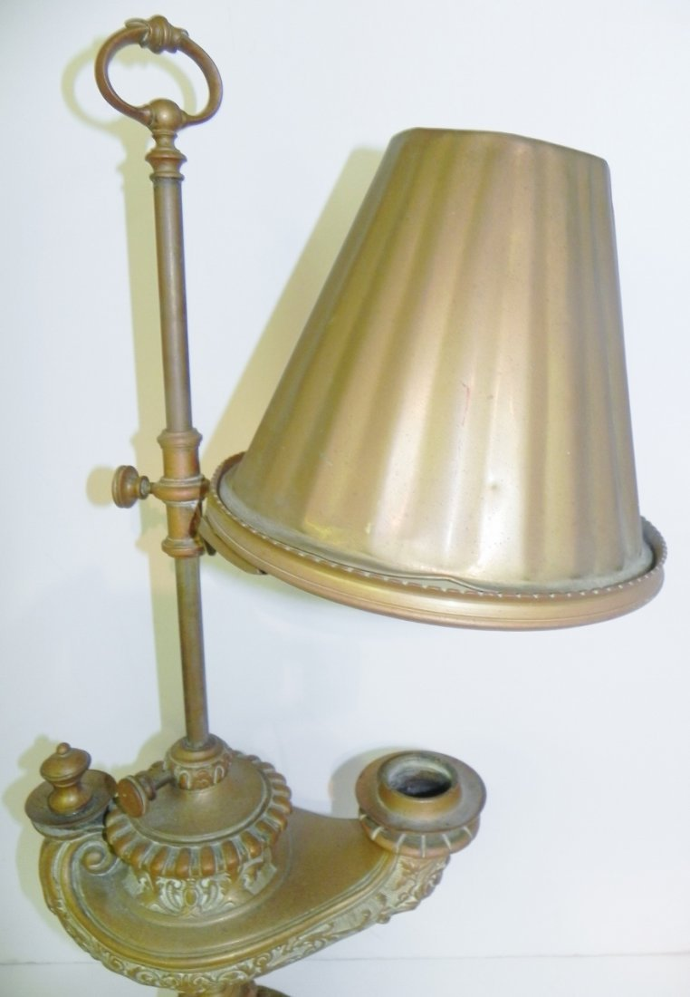 BRONZE GENIE LAMP - 3