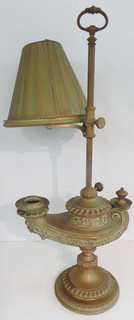 BRONZE GENIE LAMP - 4