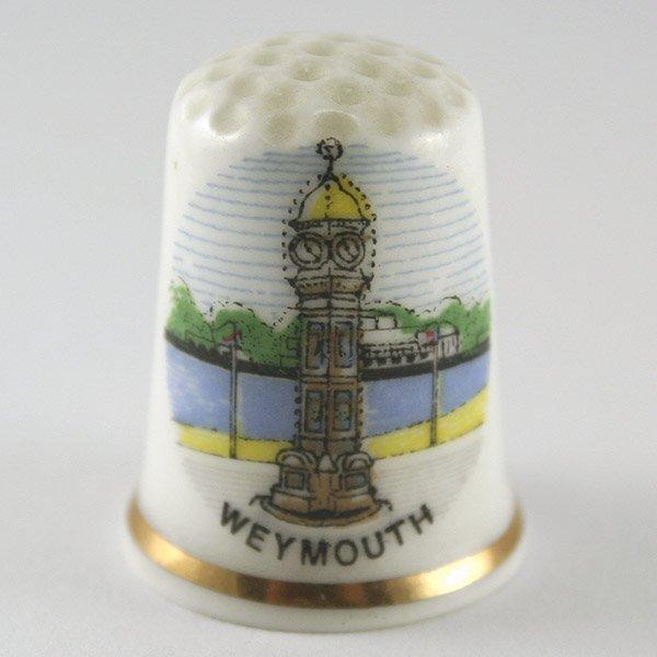 3022: Birchcroft China Thimble-Weymouth Clock tower