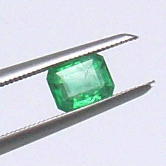 21303: 0.43ct Emerald Cut Emerald 4x5mm