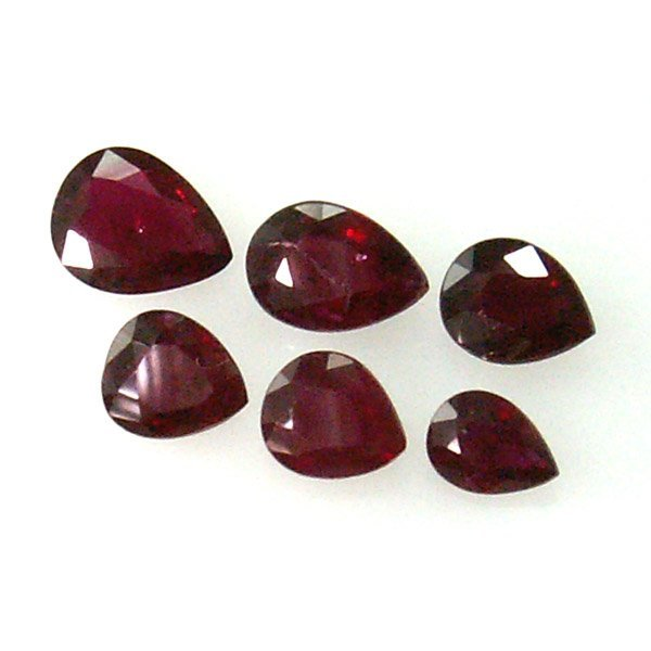 11019: RUBY LOT 2.24CTS