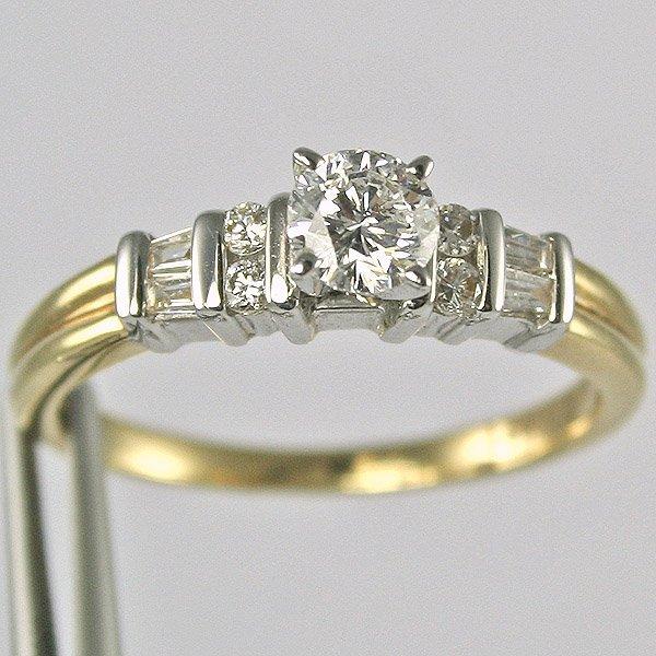 11178: 18KT DIAMOND RING 0.50TCW SIZE 7