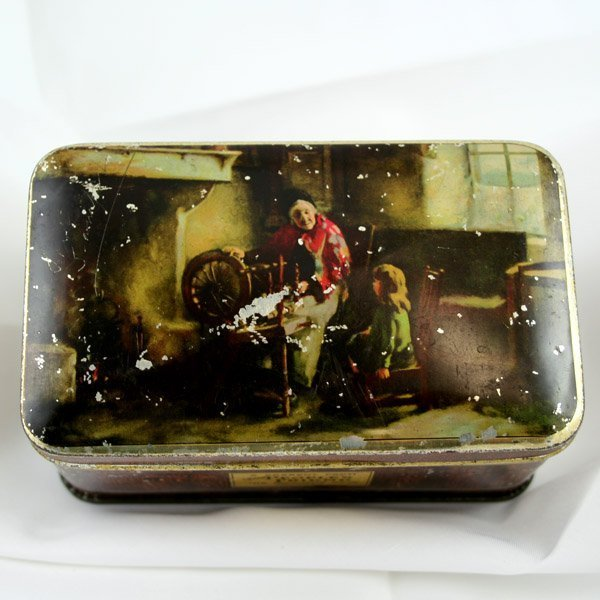 51039: THE PEOPLE'S FRIEND BISCUIT TIN 140X85X75MM