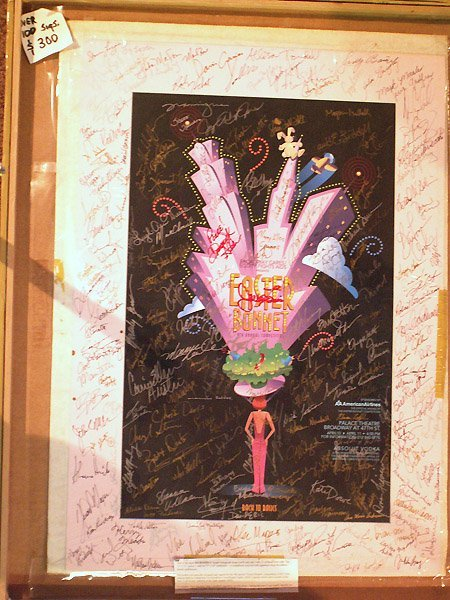 10167: EASTER POSTER 100 STAR SIGNATURES