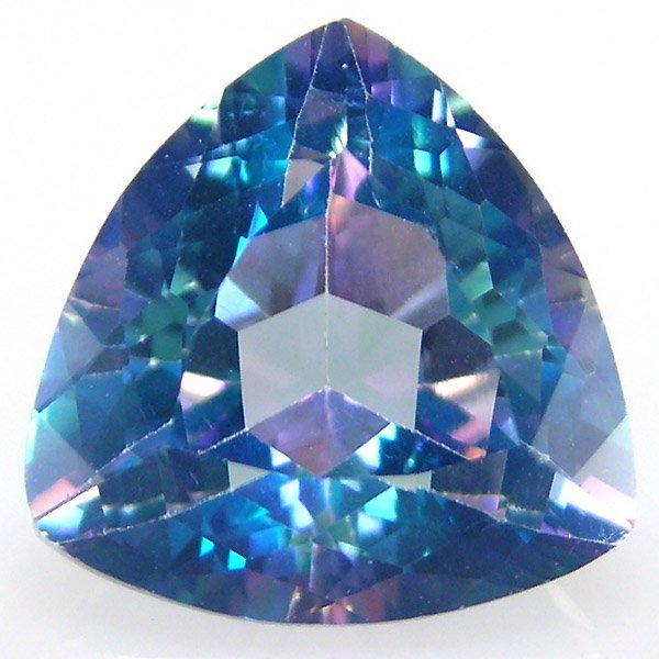 31030: NEPTUNE TOPAZ TRILLION CUT 12MM APRX 6.55CTS