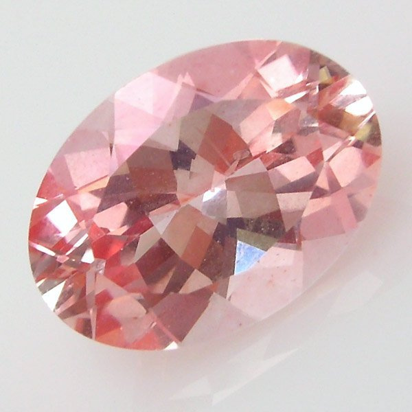 11019: STRAWBERRY TOPAZ ANTIQUE CUSHION CUT 14X10MM APR