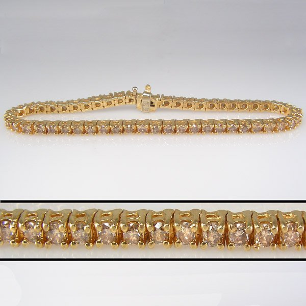 12191: 3 CARAT DIAMOND TENNIS BRACELET