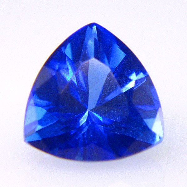 31011: GLACIER TOPAZ 7MM TRIANGLE CUT APRX 1.38CTS