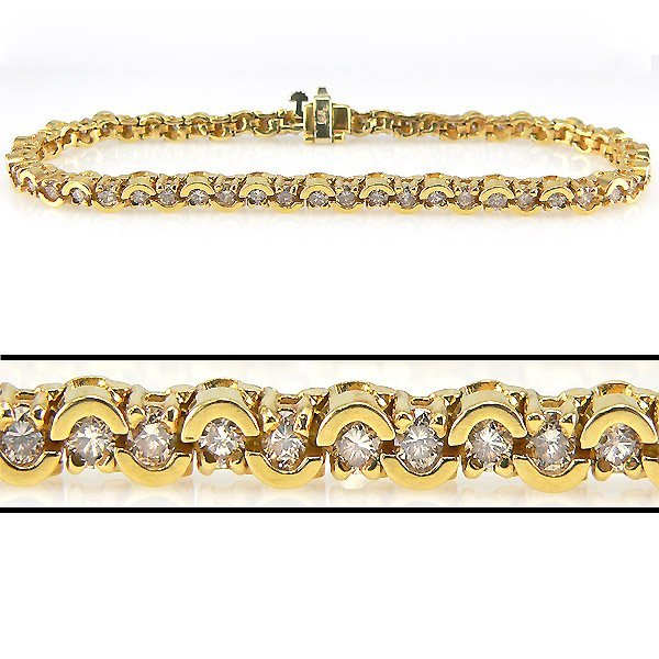 42191: 3 CARAT DIAMOND TENNIS BRACELET