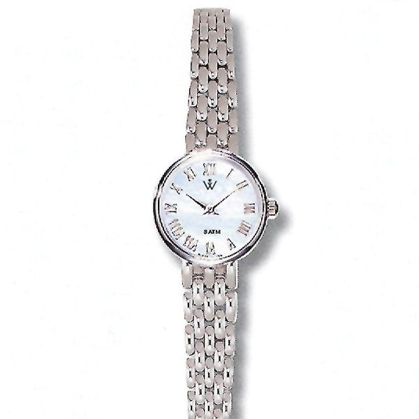 21003: Ladies Grand 14KT MOP Automatic Watch