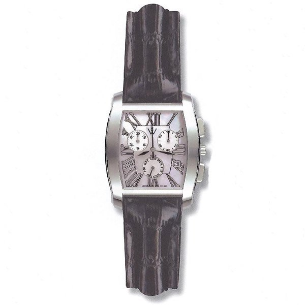 41446: Windsor Sterling Unisex Sapphire Star Watch