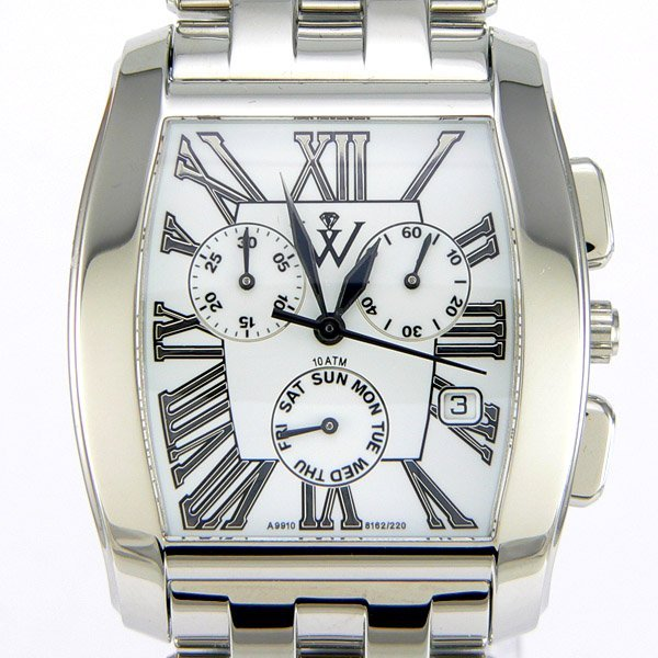 41047: Windsor Sterling Mens Sapphire Star Watch