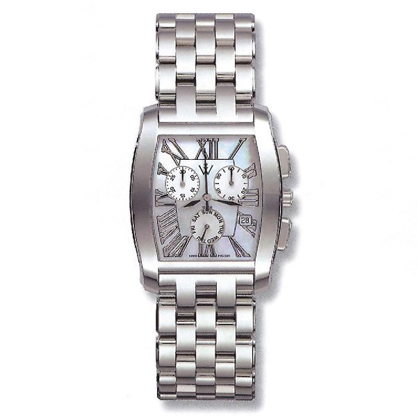 51047: Windsor Sterling Mens Sapphire Star Watch