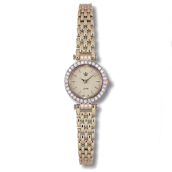 12463: Windsor Ladies 14KT 0.50CTS. Watch