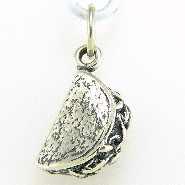 31014: WINDSOR STERLING TACO CHARM .925 SS