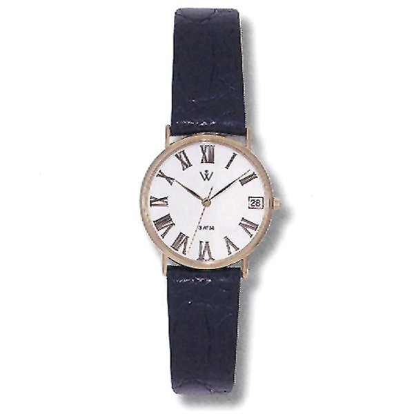 52276: Windsor Sterling Ladies 14KT Gold Watch