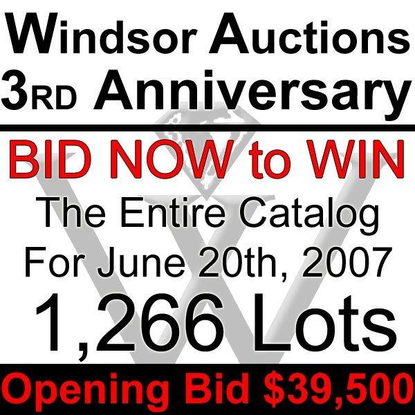 21001: WIN 1,266 LOTS! BID ON ENTIRE WINDSOR CATALOG! - 2