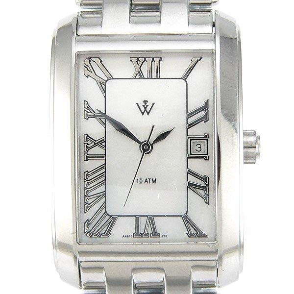 22677: Windsor Sterling Ladies S-Steel MOP Watch