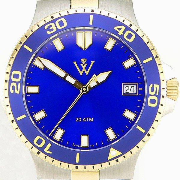 32355: Windsor Sterling Mens Yachtsman Watch
