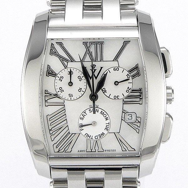 11047: Windsor Sterling Mens Sapphire Star Watch