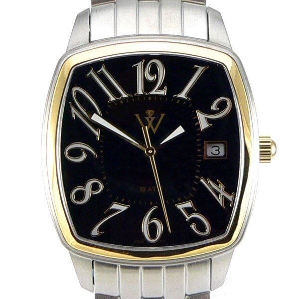 12721: Windsor Sterling Mens S-Steel/18KT Gold Watch