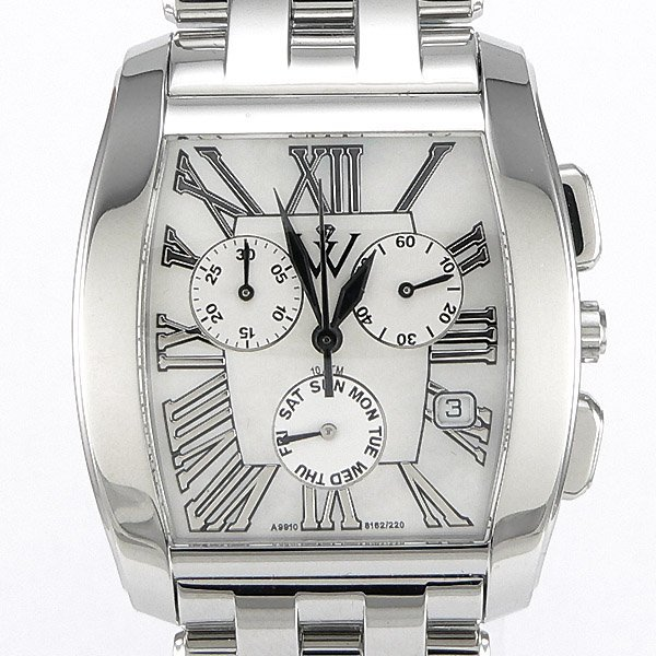 31047: Windsor Sterling Mens Sapphire Star Watch