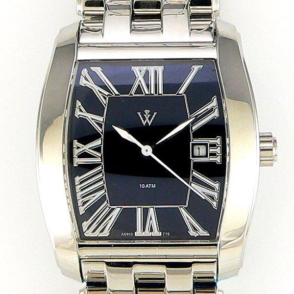 51535: Windsor Sterling Ladies Sapphire Watch