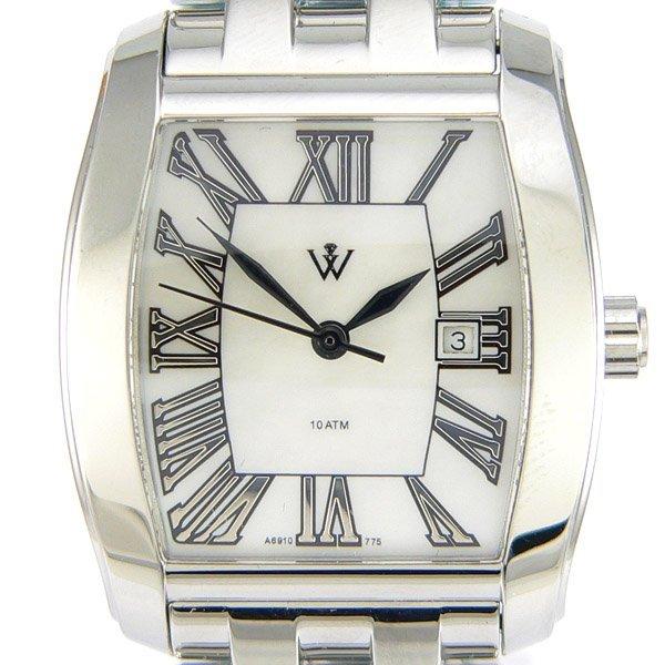 52668: Windsor Sterling Ladies S-Steel MOP Watch