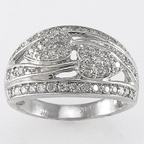 3015: 14KT  DIAMOND RING 0.56TCW SZ 7