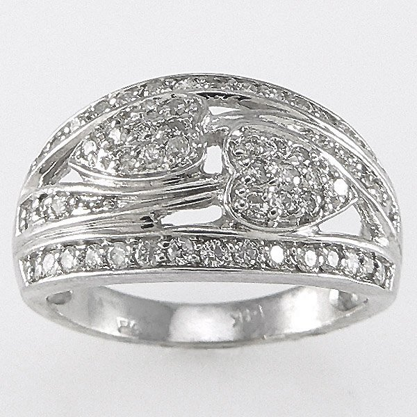 1015: 14KT  DIAMOND RING 0.56TCW SZ 7