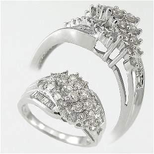 10KT DIAMOND RING SZ 6.75 1 CARAT