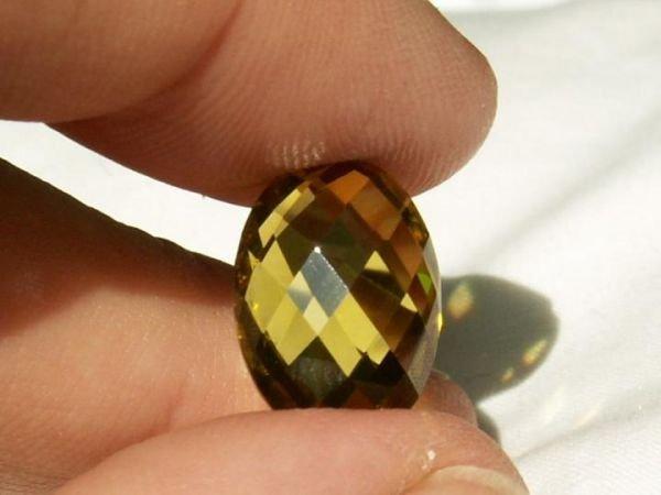 4026: Gorgeous Natural Peridot 7.6 Carats