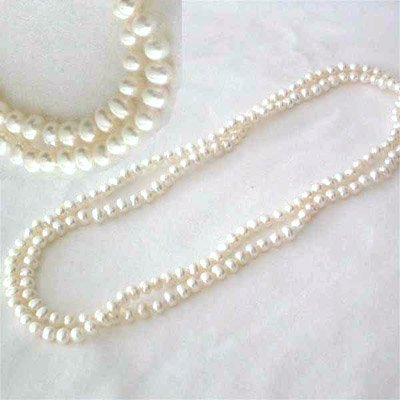 3002: 36 Inch 5-6mm Fresh Water Pearl Necklace