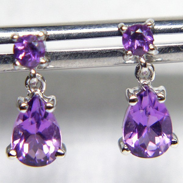 2015: 14KT Amethyst Drop Earrings