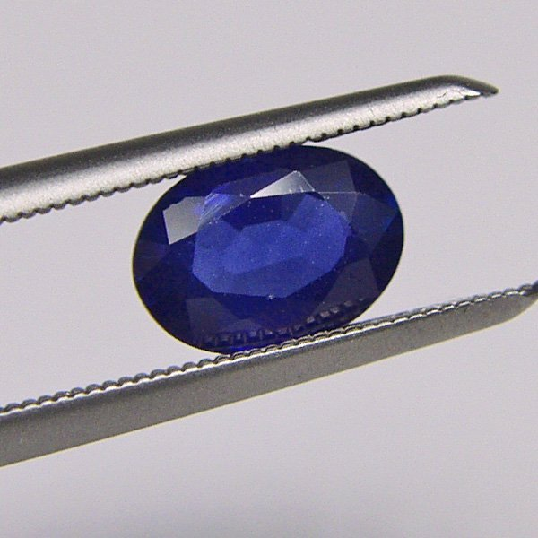 1012: Sapphire 0.85 CTS 7X5 MM