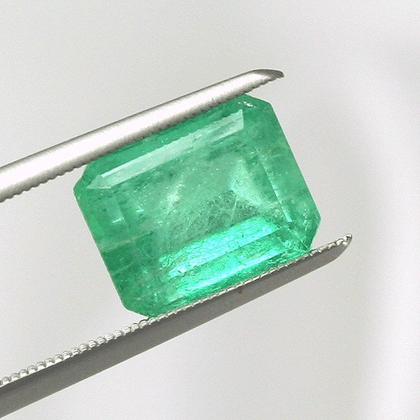 1682: 2.98ct Colombian Emerald 9.4x7.6mm