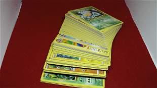 lot of 100 pokemon cards common/uncommon