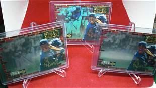 lot of 3 ken griffey jr cards