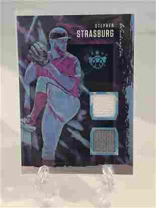 Stephen Strasburg Relic Basball Card