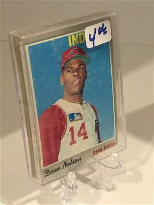 Vintage Baseball Cards Lot of 5 Cards