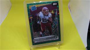 chase young green rated rookie optic