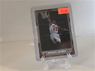 Michael Jordan Fleer Basketball Card