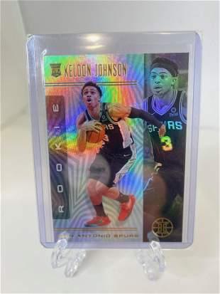 keldon johnson basketball card
