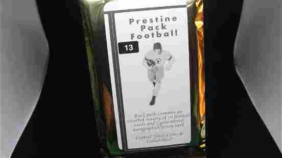 football hotpack with auto or jersey