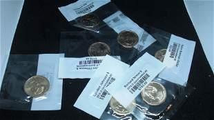 lo of 6 bu presidential dollars
