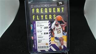 lebron james frequent flyers