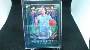 cole anthony green rookie prizm crusade